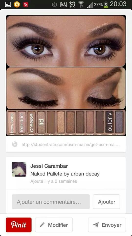 Make up pallette Marron... ...