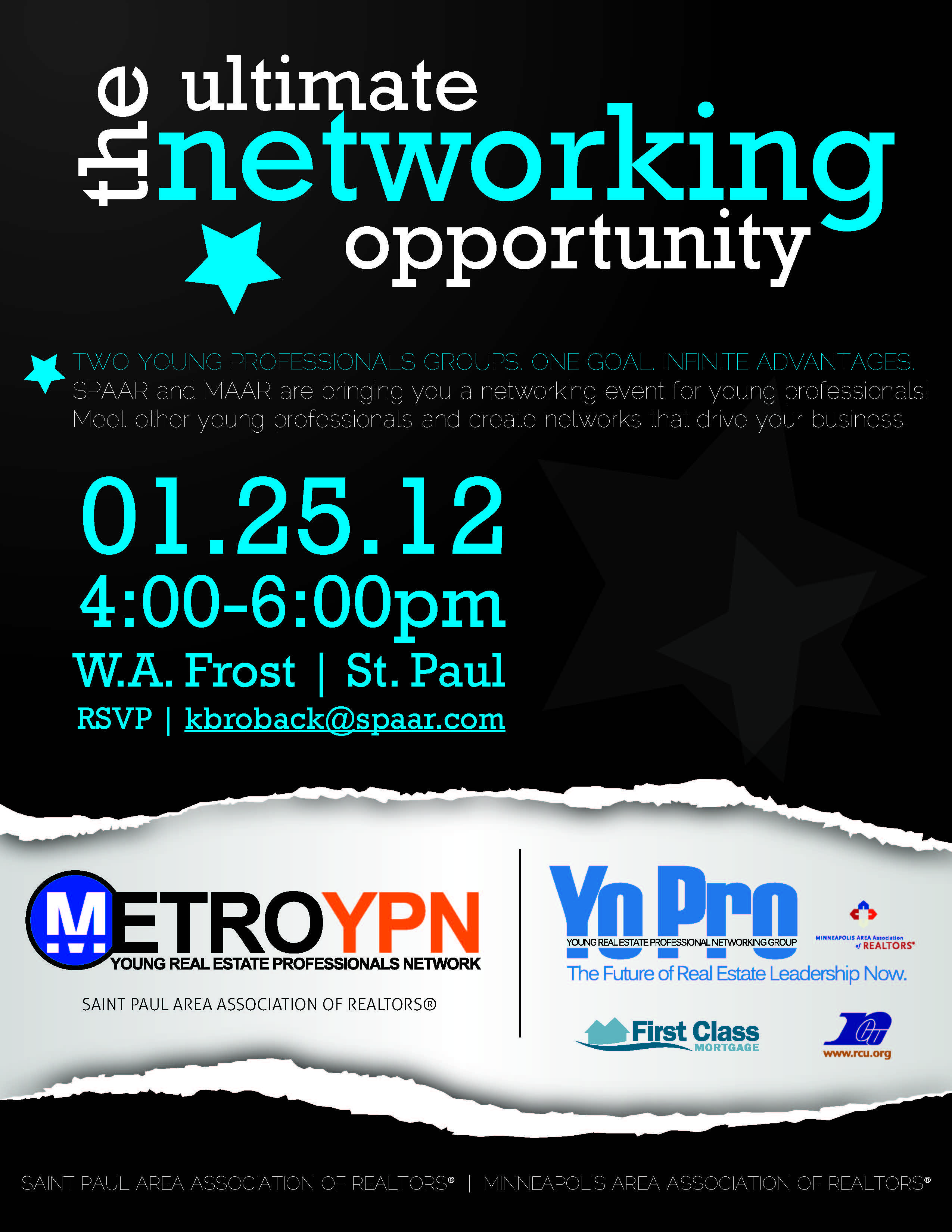 another flyer i made for my young professionals network