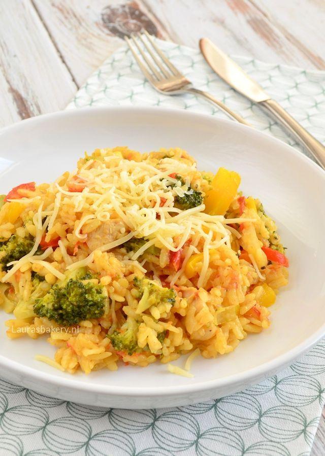 Risotto met broccoli en kip | Laura's Bakery | Bloglovin'