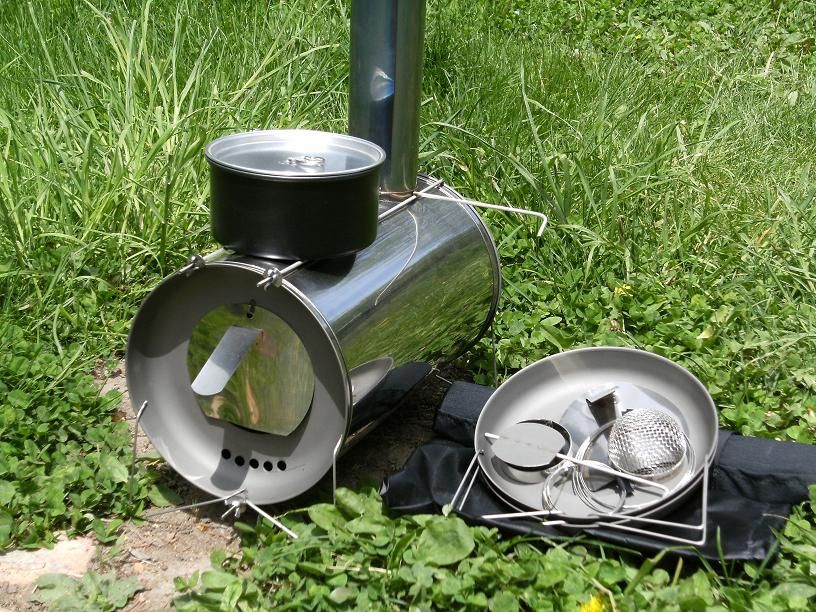 TiGoat Cylinder Stove titanium tents stove that breaks down into nothing  and weighs nothing for backpacking - 94 Best Images About Tent Stoves On Pinterest Camps, Military