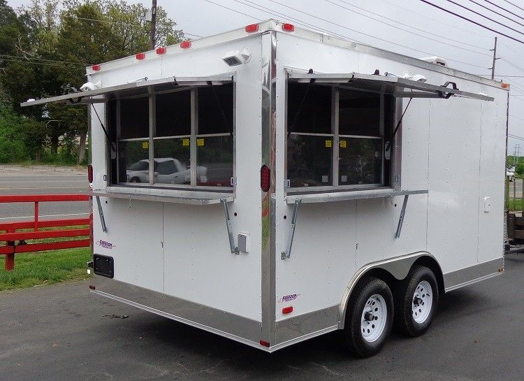 pictures of bathroom sinks concession trailer 8 5 x14 white event custom enclosed 19974