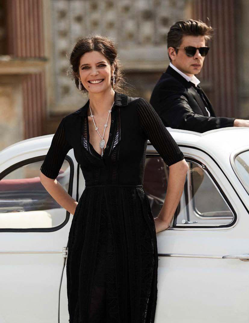 Benjamin Biolay y Chiara Mastroianni para Madame Figaro