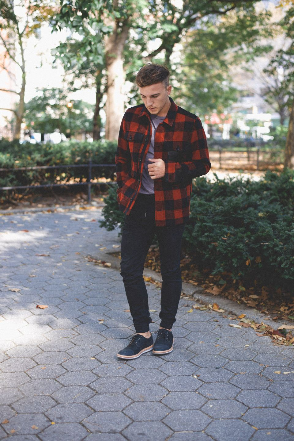 Red flannel outfit guys  Scout Sixteen  Street Looks I DigMAN  Pinterest  Man style