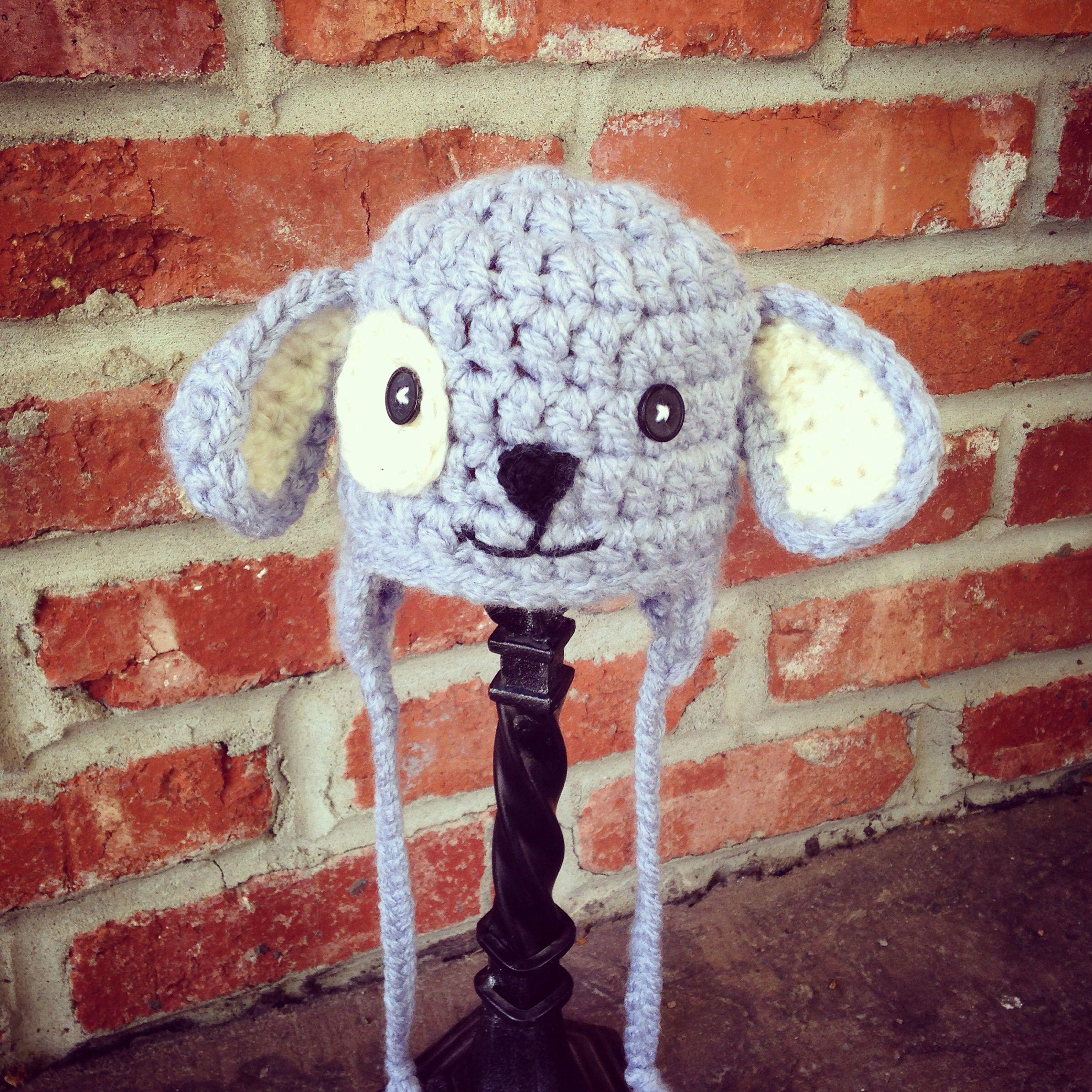 Crocheted puppy hat by christa keeler crochet pinterest crocheted puppy hat by christa keeler bankloansurffo Gallery
