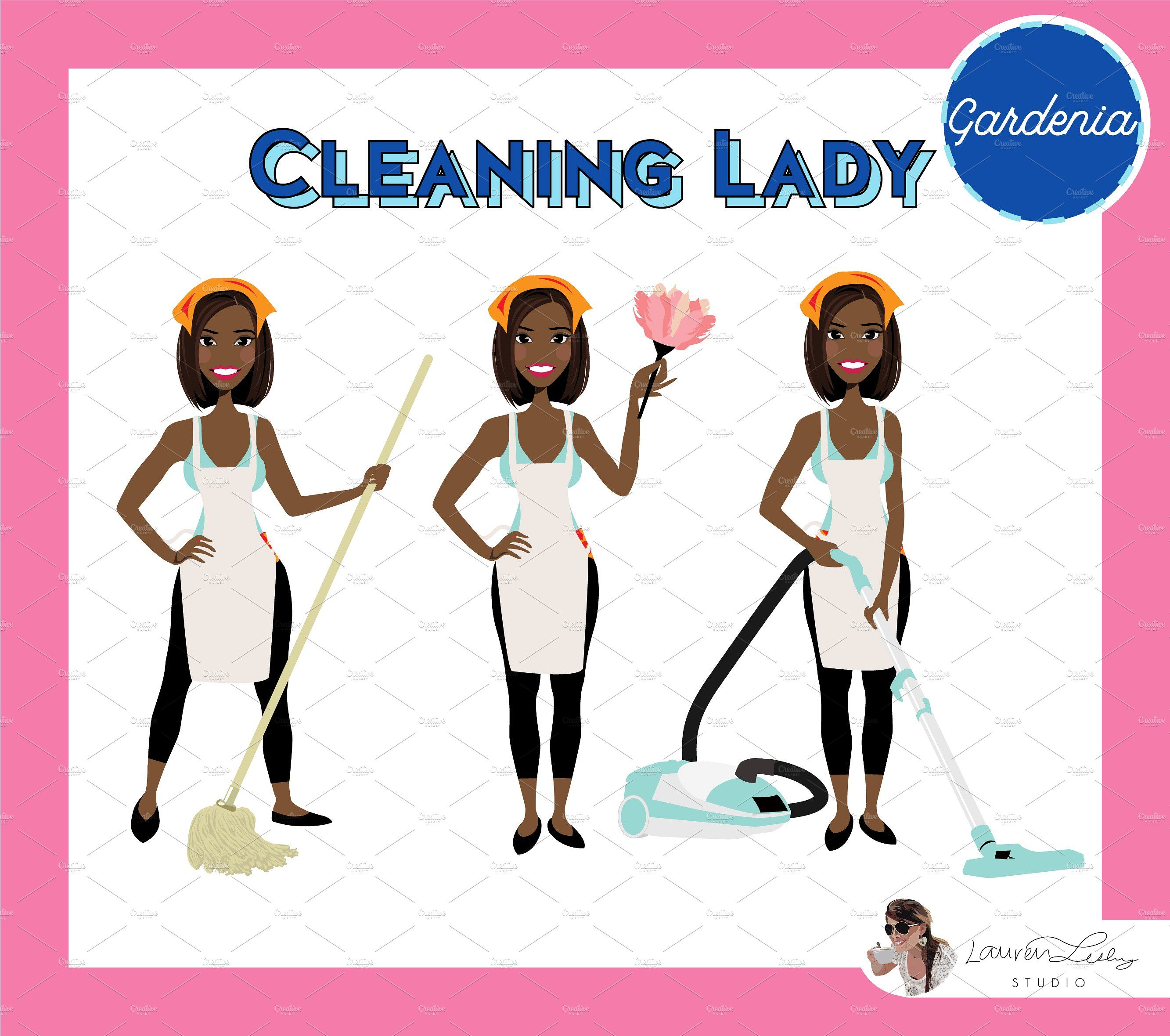 Cleaning Lady Maid Cleaner Vectors Cleaning Lady Lady Web Banner