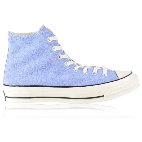 CONVERSE Chuck Taylor All Star 70 Vintage Suede High Top Trainers ( 75) ❤  liked f23aedbf9