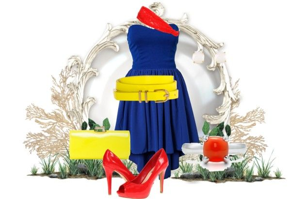 """Disneybound - Snow White"" by macredle on Polyvore"
