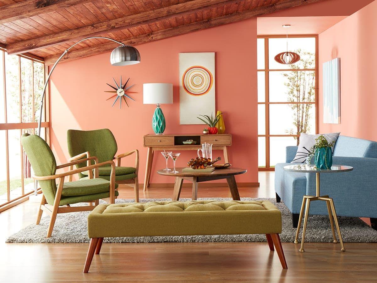 20 Mid-Century Modern Living Room Ideas images