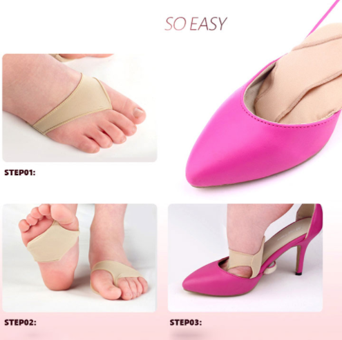 Foot Pillow 1 Pair Heels Shoe Insoles Bunion Shoes