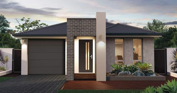Design Two Facade 1 - from the Weeks and Macklin Homes Choice Series ...