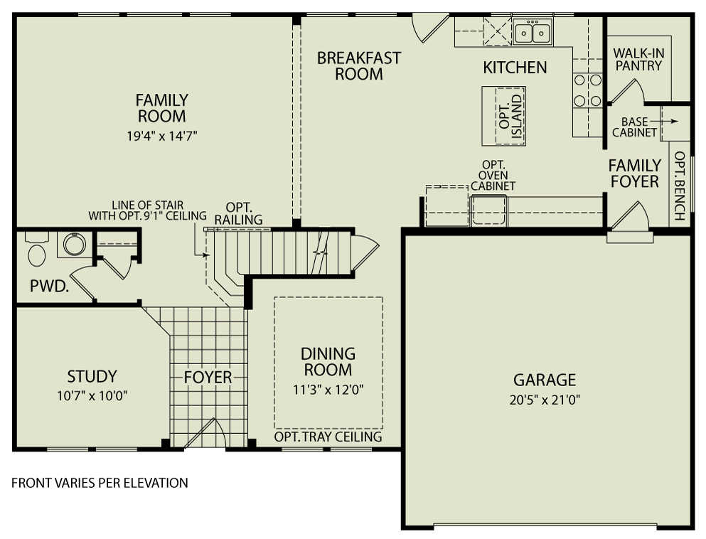Quentin 103 drees homes interactive floor plans for Custom dream home floor plans