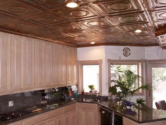 16 Decorative Ceiling Tiles For Kitchens Kitchen Photo Gallery Copper Ceiling Tiles Ceiling Tiles Copper Ceiling