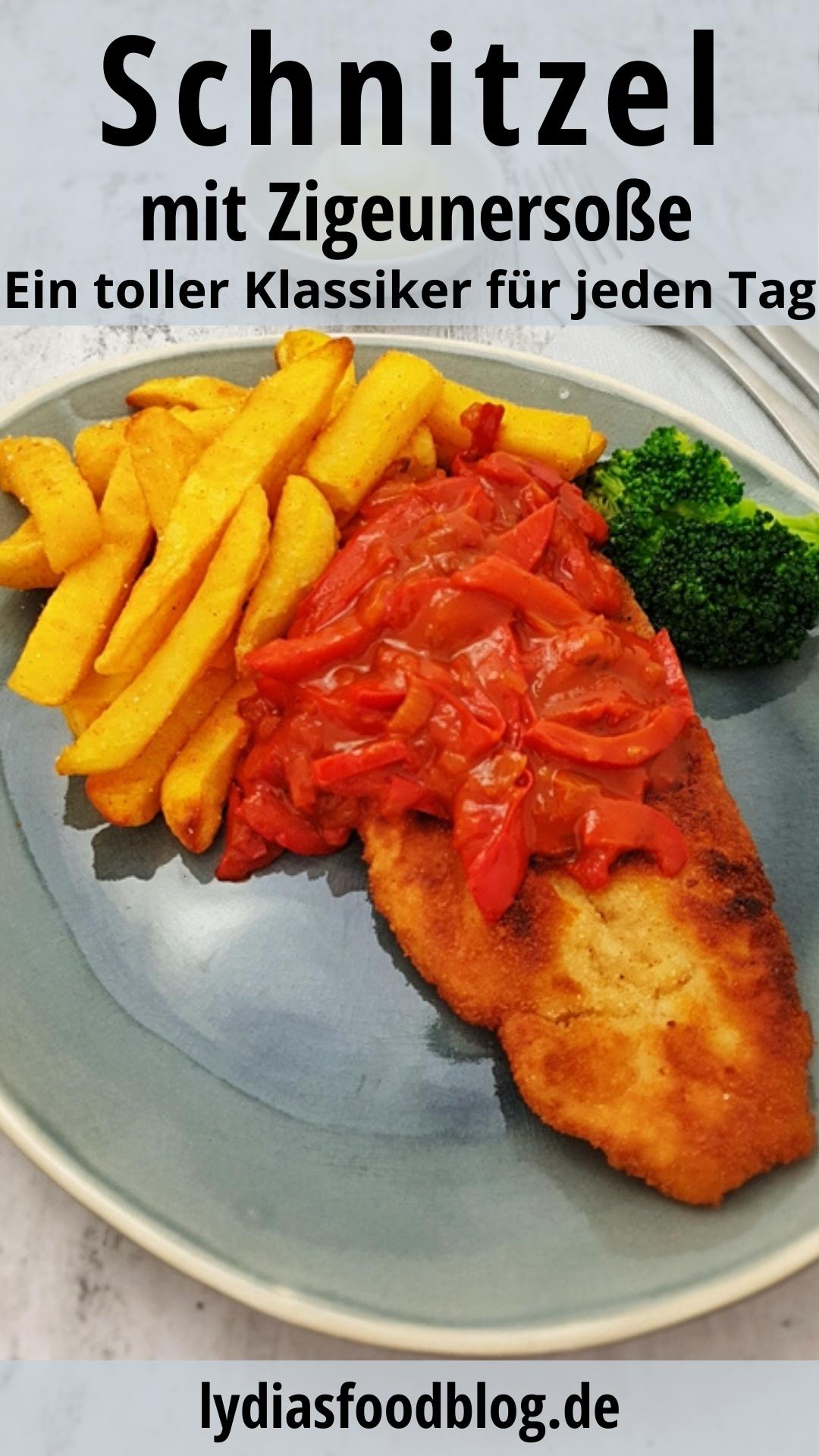 Photo of Zigeuner Schnitzel mit Pommes Frites , Rezept