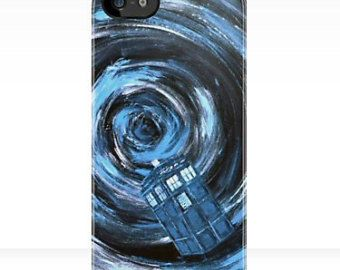iPhone 5 or 4 Case - Doctor Who iPhone - Made in US - Extremely durable, shatterproof casing, no fading or peeling, Tardis