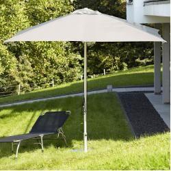 Alu-Sonnenschirm rund ohne Schirmständer ikarusikarus #apartmentpatiogardens