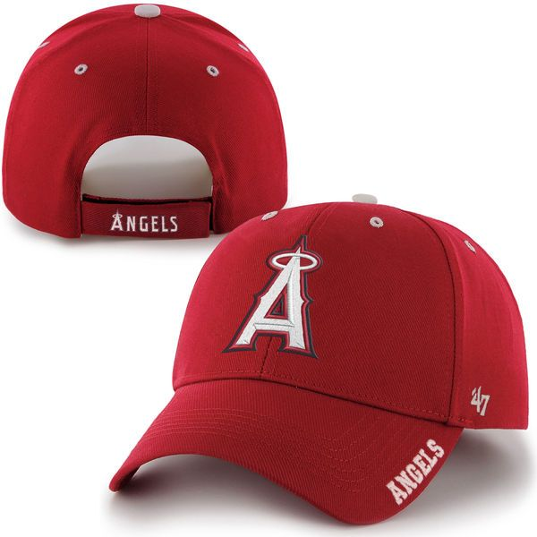 32af29088 ... discount mens los angeles angels 47 brand red frost structured  adjustable hat your price 19.99 e0632