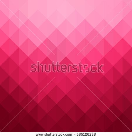 abstract geometric pattern pink triangles background vector