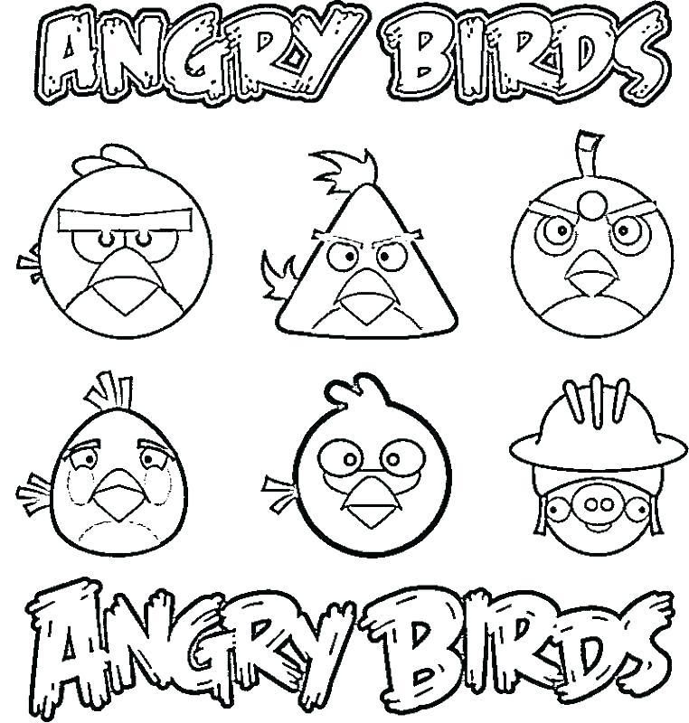 Angry Bird Images To Color Angry Birds Color Pages Bird Bird Coloring Pages Coloring Books Valentines Day Coloring Page