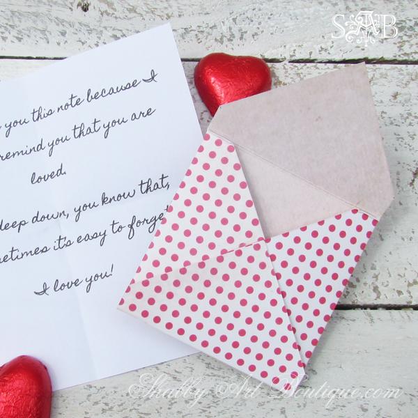 mini valentine's day love letters {a diy craft} | craft, easy diy, Ideas