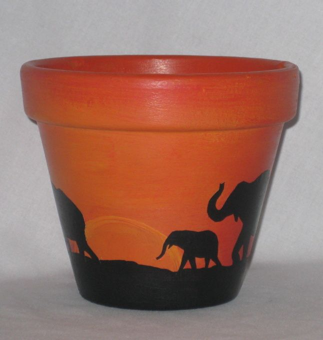 Information about rate my space flying pig terracotta for Terracotta works pots
