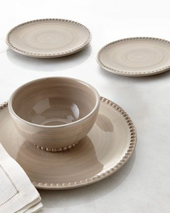 Linen Dinnerware by GG Collection at Horchow. & Linen Dinnerware by GG Collection at Horchow. | The Comfort of Home ...