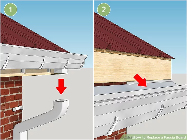 How To Replace A Fascia Board In 2020 Fascia Board Fascia Fascia Gutter
