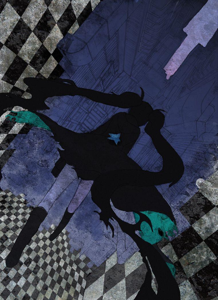 Brs Vs Wrs Black Rock Shooter Photo Fanpop - Black rock shooter anime illustration