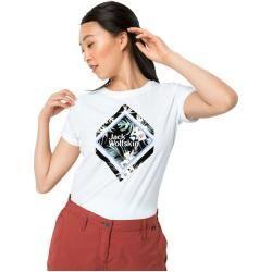 Photo of Jack Wolfskin T-Shirt Women Tropical Square T-Shirt Women M white Jack Wolfskin