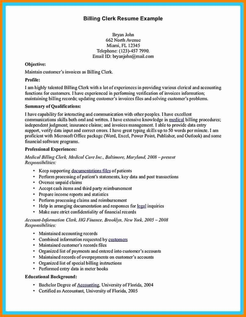 Certified coding specialist resume example best of 5