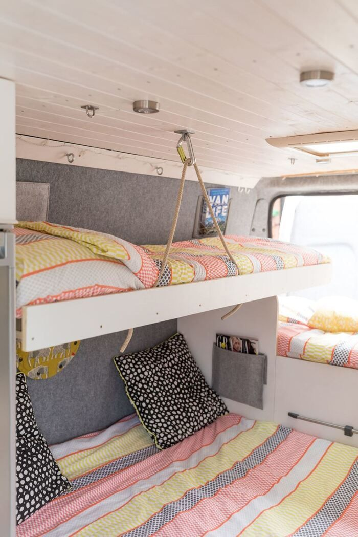 Take a virtual tour of these 6 spectacular handcrafted campervan rentals -