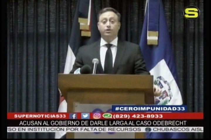 Abogados Acusan Al Gobierno De Darle Larga Al Caso Odebrecht