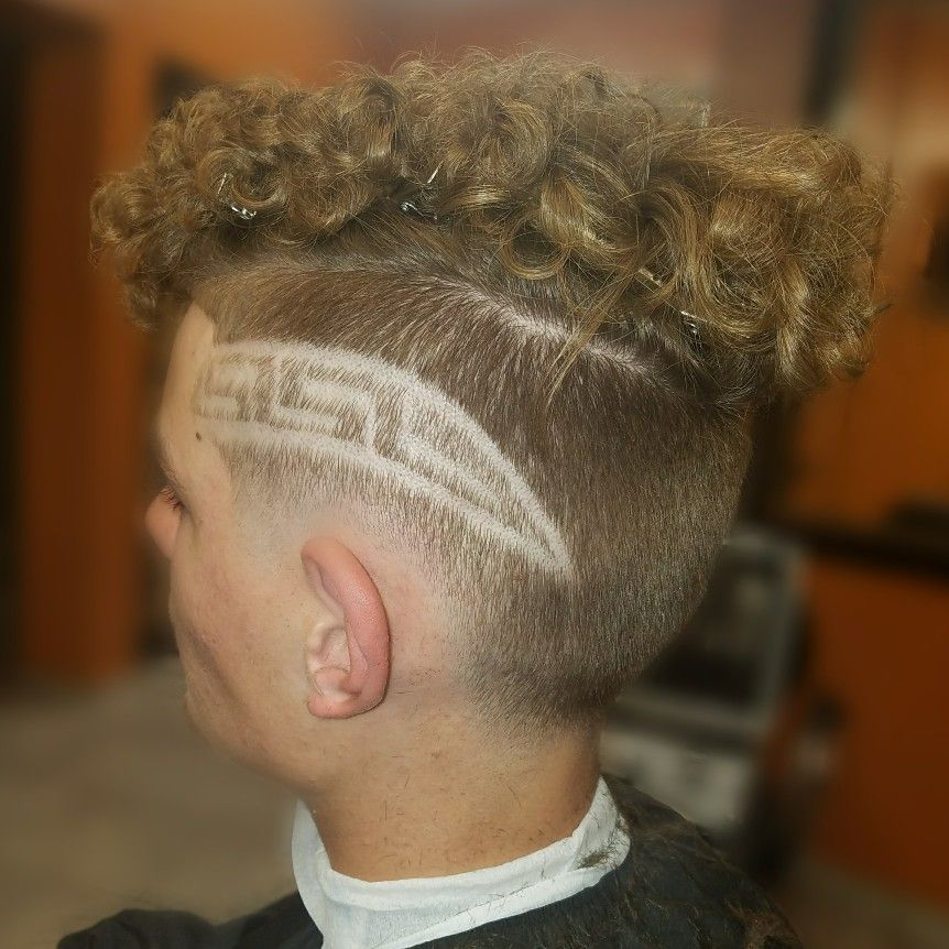 haircut design freestyle versace