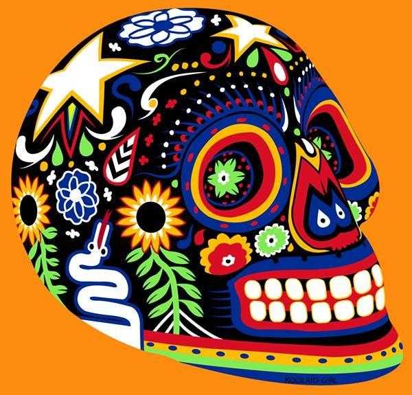 Amazing colors | Dia de los muertos - calacas mexicanas ...