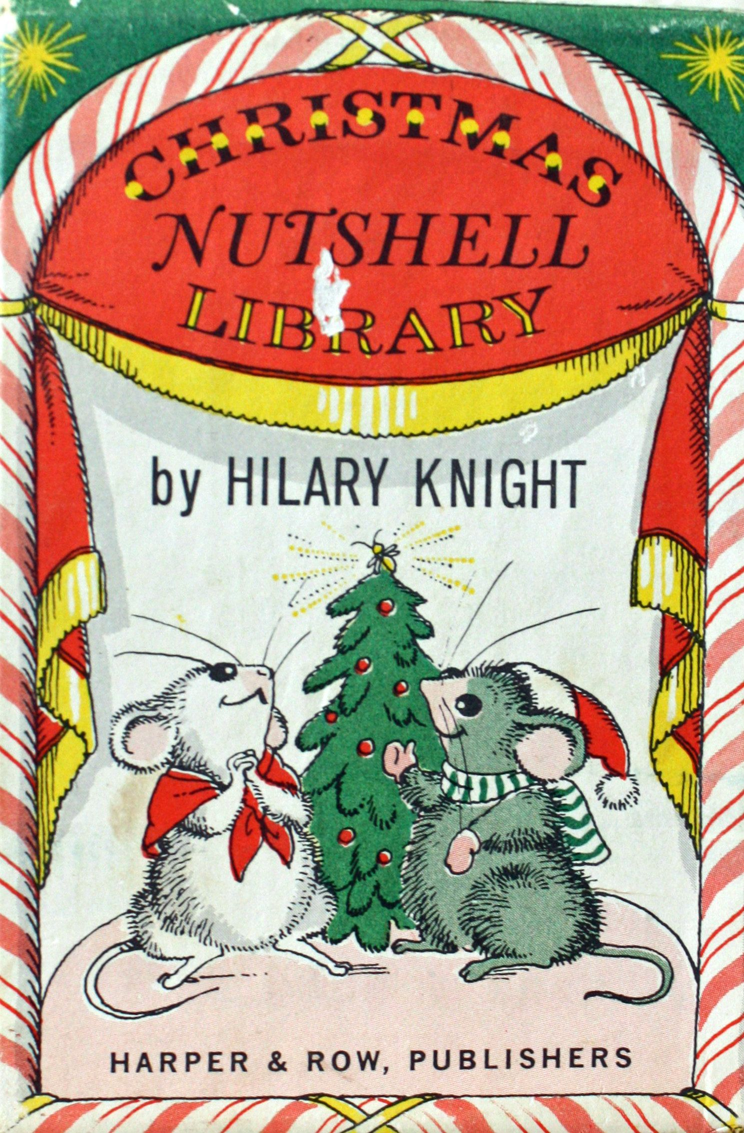 Christmas Nutshell Library by Hilary Knight