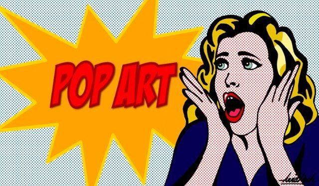 Pop art\ - einrichtung stil pop art