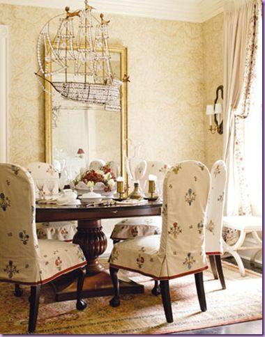 Cote De Texas S Top Ten Designers 10 Vintage Dining Room