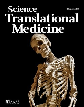 Cover of science translational medicine september 2015 the cover of science translational medicine september 2015 the skeleton of harry eastlack fibodysplasia ossificans fandeluxe Image collections