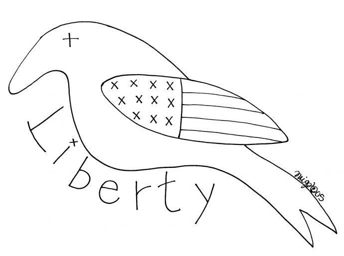 Free+Primitive+Crow+Pattern | Free Goods - Free Patterns - Sheeps ...