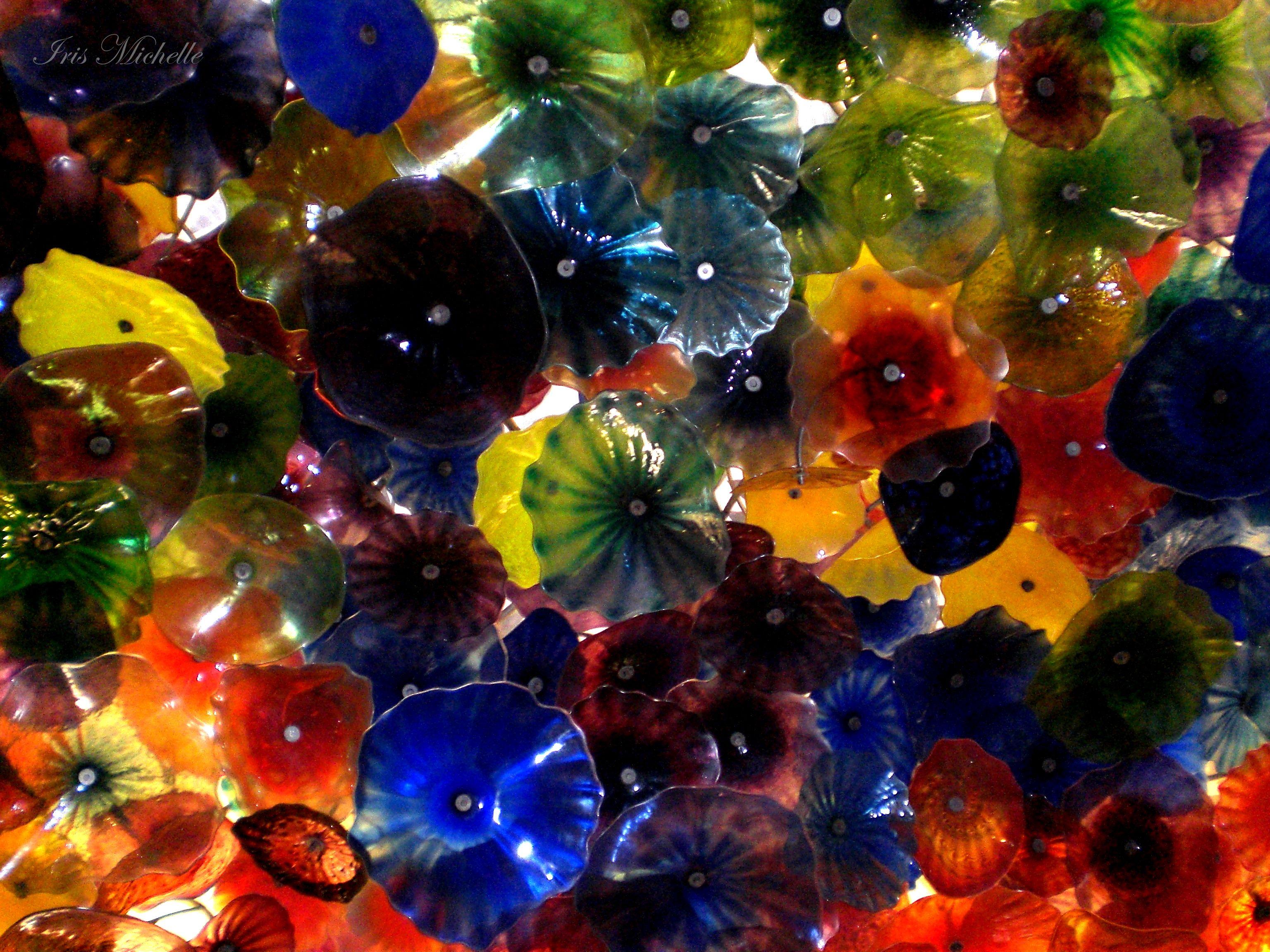 Flower ceiling, Las Vegas