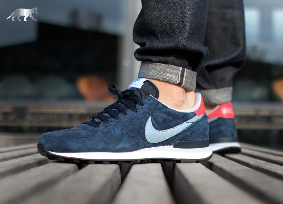 Unisex Nike Internationalist Neutral Grey Gym Red TopDeals