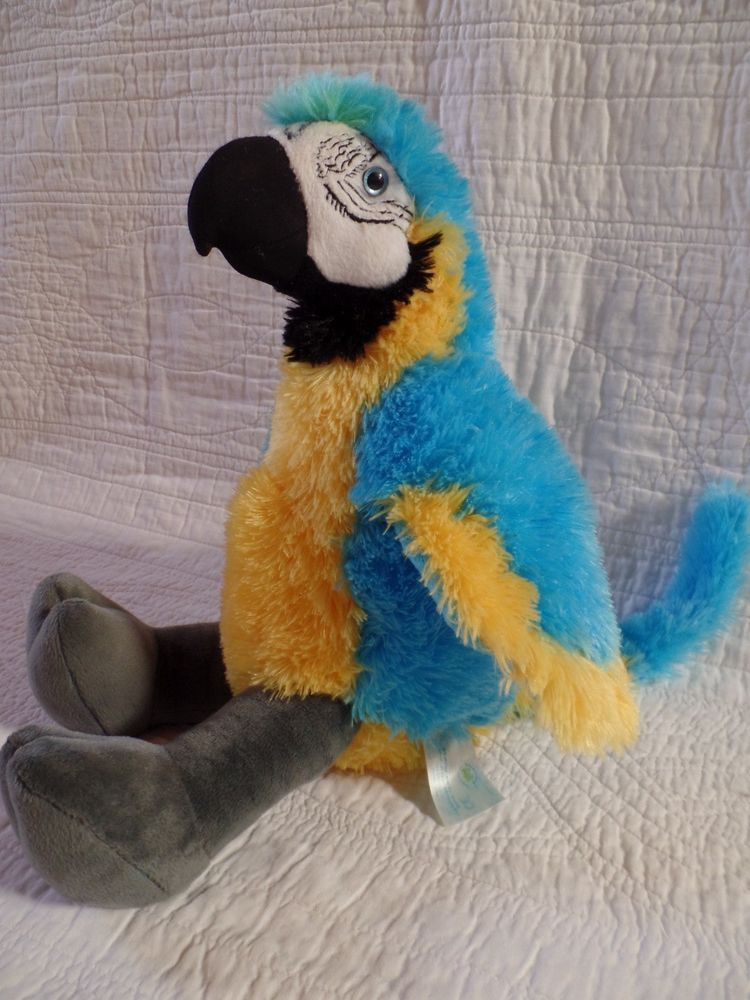 Electronics Cars Fashion Collectibles Coupons And More Ebay Build A Bear Macaw Plush