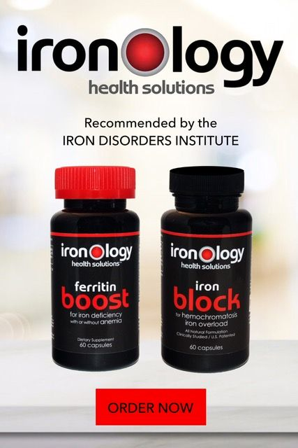 Iron Disorders Institute:: Iron Out-of Balance In Women In