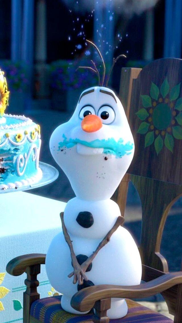 1440x2960 Snowman, Olaf from frozen 2, movie wallpaper