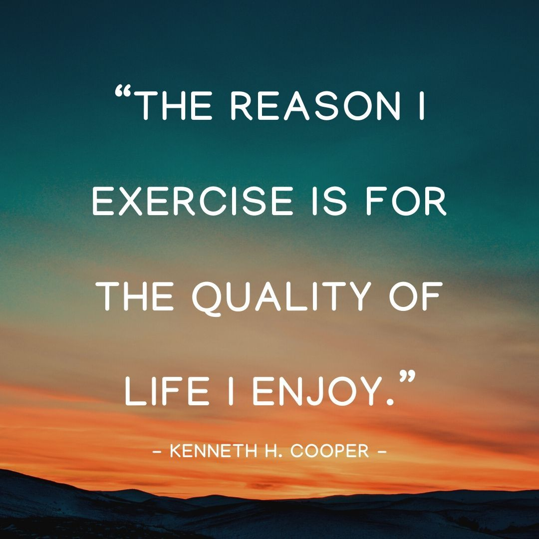 Exercise Is The Quality Of Life Inspirational Quotes Quotes Quotes By Famous People