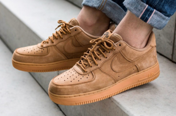 sale retailer b7a20 5c249 Nike Air Force 1 Low Flax Ready For Fall The Nike Air Force 1 Low Flax