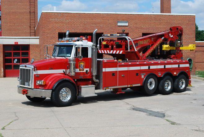 Dcfd Heavy Duty Wrecker Fire Trucks Fire Apparatus Tow Truck