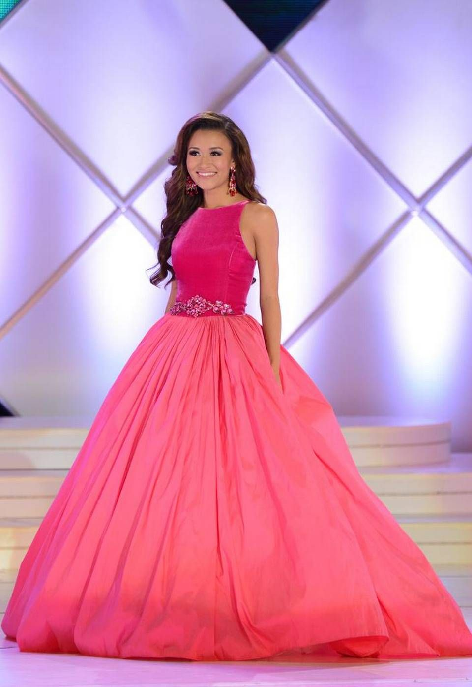 Miss South Carolina Outstanding Teen 2015 Evening Gown Evening