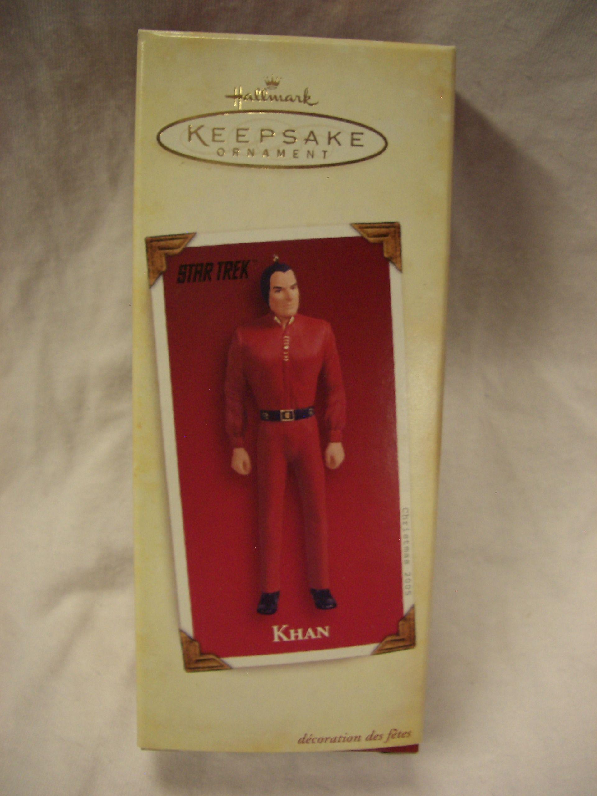 Hallmark Khan from Star Trek.  Retailed for $14.95.  Asking $10.  Mint Condition.