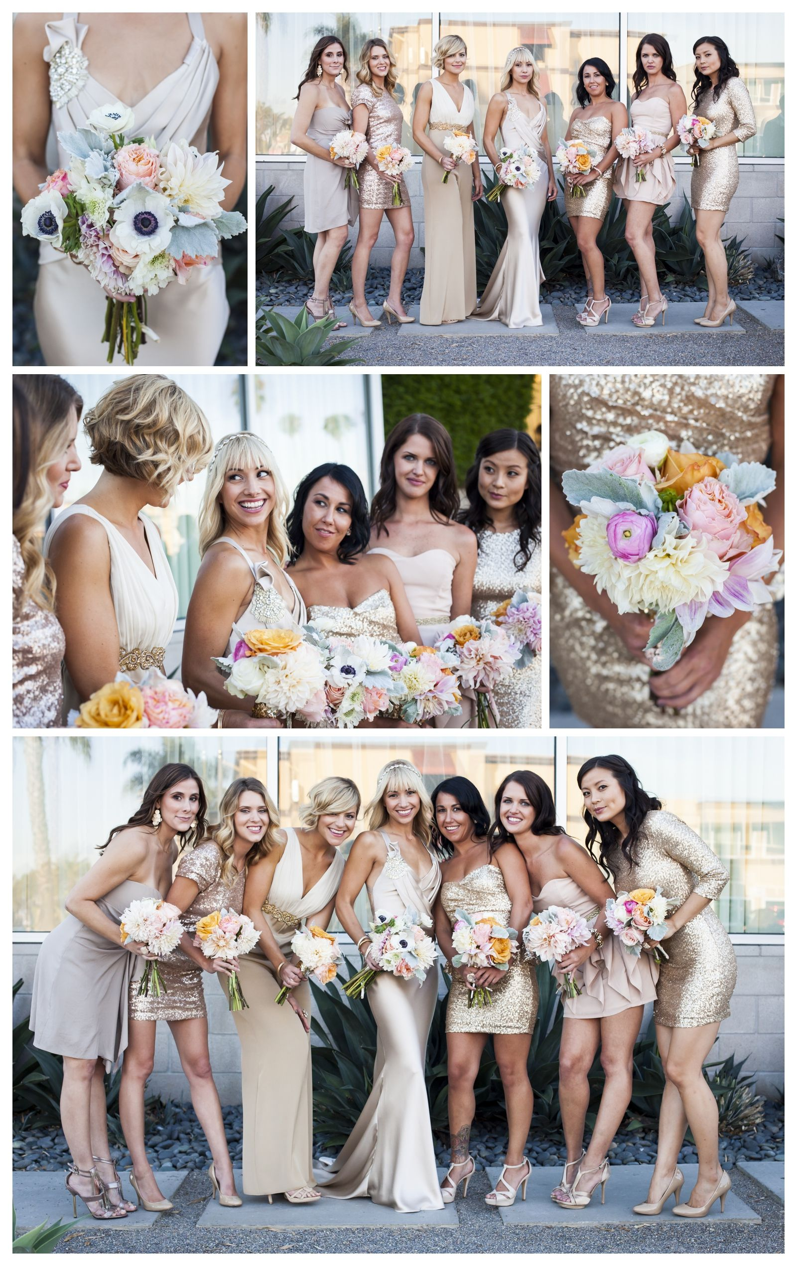 Bridesmaid shots - Do these after the Ceremony.