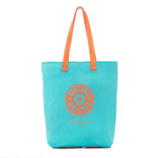 Hip Hurray Convertible Tote Bag - Cool Turquoise | Kipling
